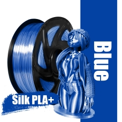 Blue-colored Premium SILK...