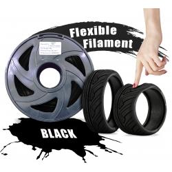 Black Flexible (TPU) 3D...